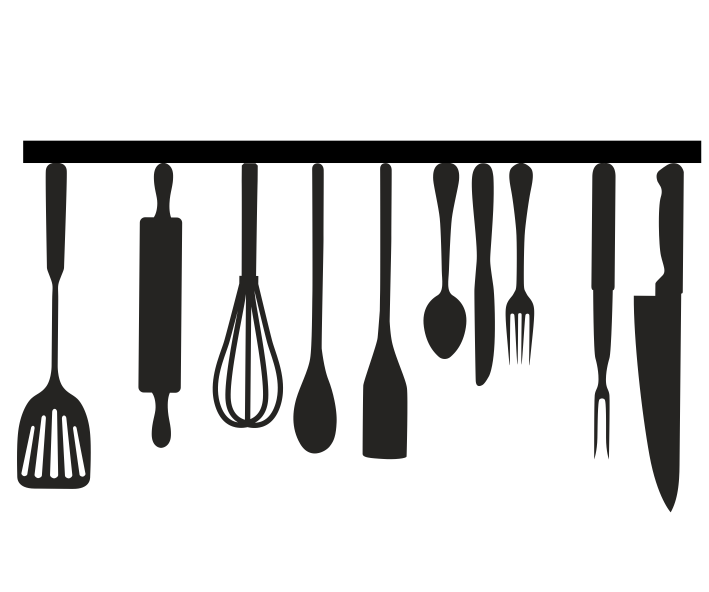 Vinilos decorativos objetos de cocina - Objetos de cocina ...